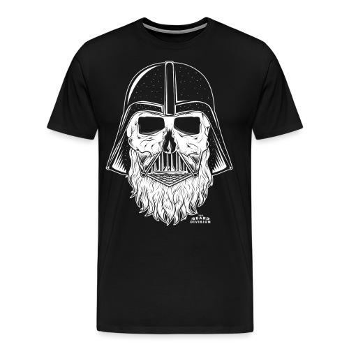 TBD Beard Vader White - Männer Premium T-Shirt