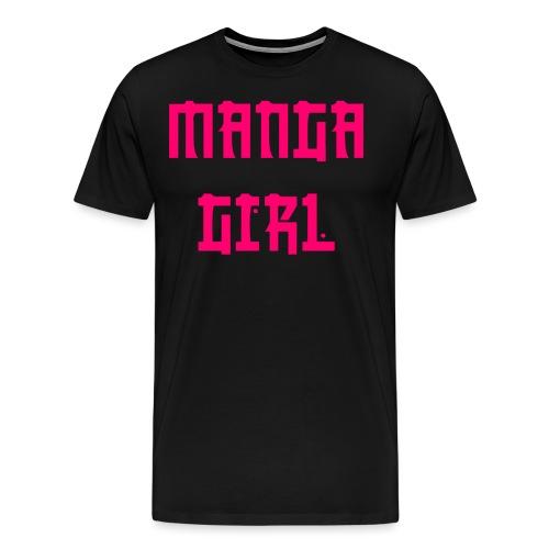 Manga Girl - Männer Premium T-Shirt