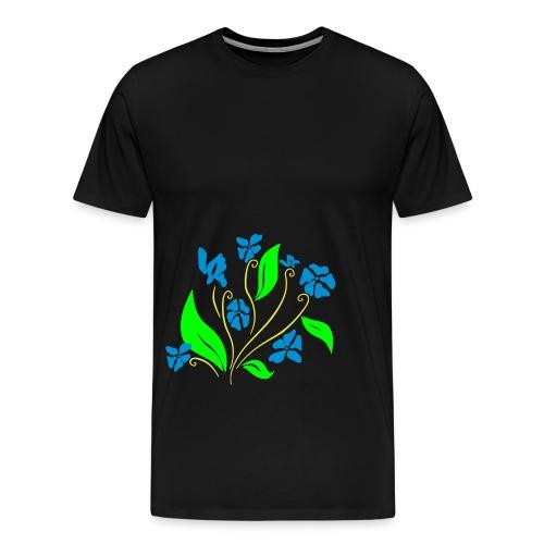motif floral 1 - T-shirt Premium Homme