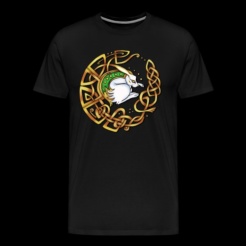 Celtic Hare - Men's Premium T-Shirt