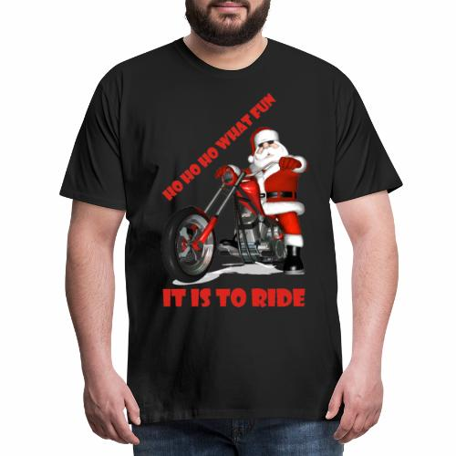 ho ho ho what fun - Men's Premium T-Shirt