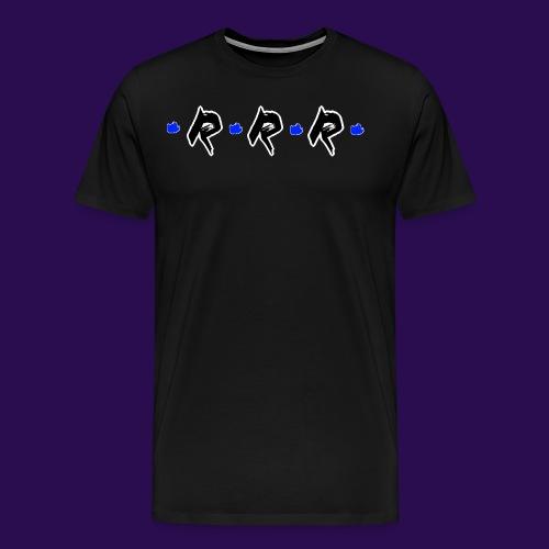 Blue Logo - Männer Premium T-Shirt