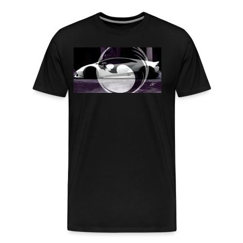 lion black lyon design - Men's Premium T-Shirt