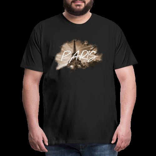 PARIS   MKEY - Männer Premium T-Shirt