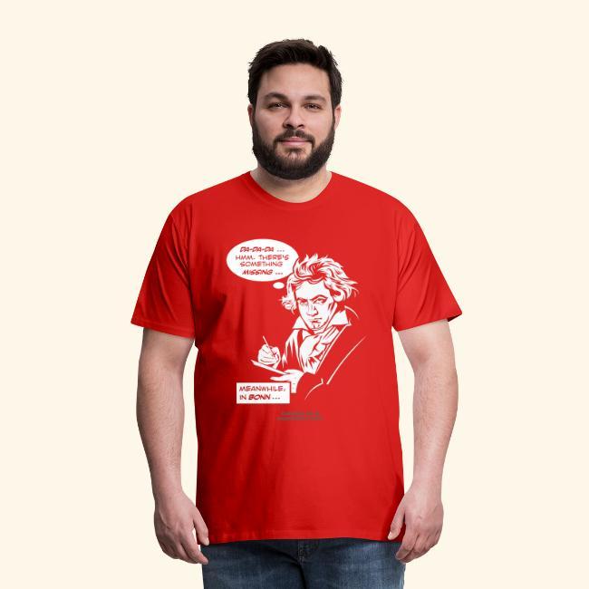 Beethoven T-Shirt Comic Fünfte Symphonie Beethoven
