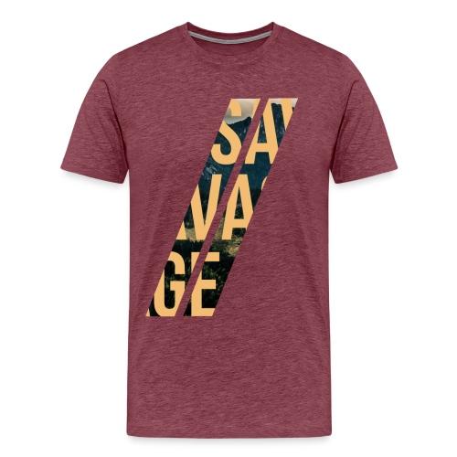 //Savage - Maglietta Premium da uomo