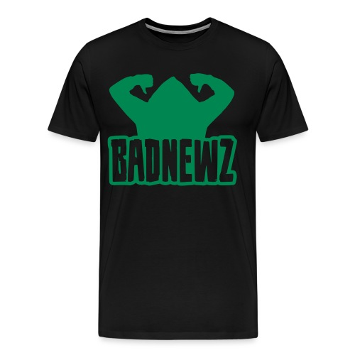 Bad Newz Thumbs Down - Männer Premium T-Shirt