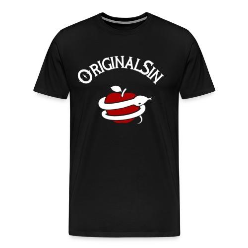Blanco y rojo letras - Camiseta premium hombre