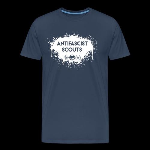 Antifascist Scouts - Men's Premium T-Shirt