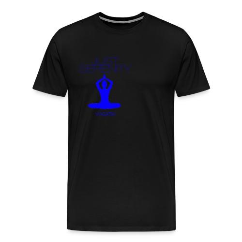 yogatyk blue - T-shirt Premium Homme
