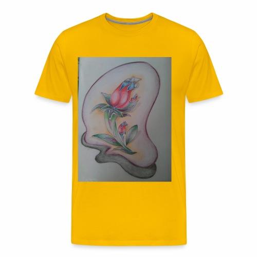 fiore magico - Maglietta Premium da uomo