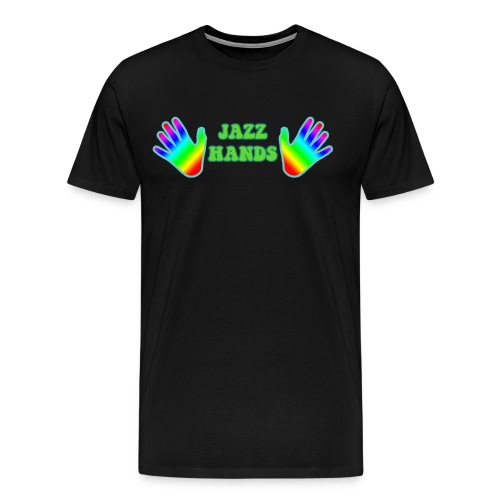Jazz Hands - Men's Premium T-Shirt