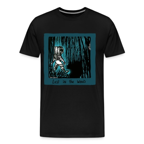 Lost In The Woods Now - Men's Premium T-Shirt