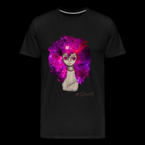 Universe Girl [BLK Edition] - Mannen Premium T-shirt