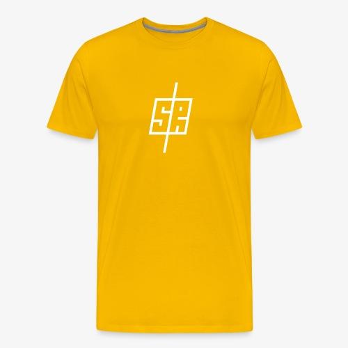 White logo (No background) - Men's Premium T-Shirt