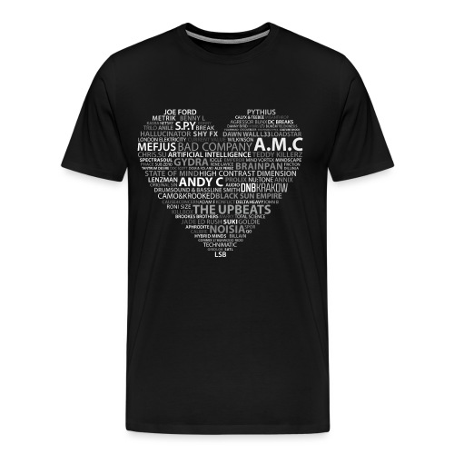 DNB LOVE - Koszulka męska Premium