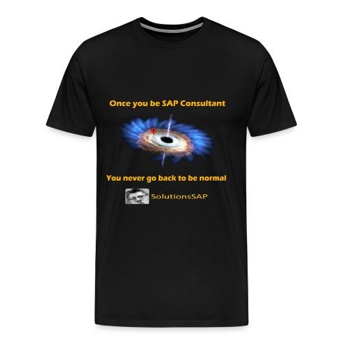 Black Hole - Camiseta premium hombre