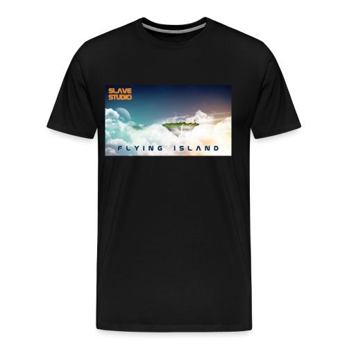 flying island - Maglietta Premium da uomo