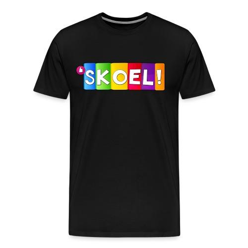 SKOEL merchandise - Mannen Premium T-shirt