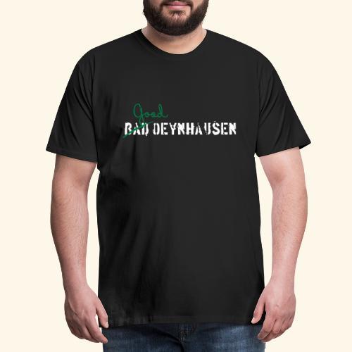 Good Oeynhausen- jetzt auch in Weiß - Männer Premium T-Shirt