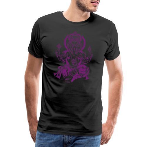 Ganesha Glücksgott - Männer Premium T-Shirt