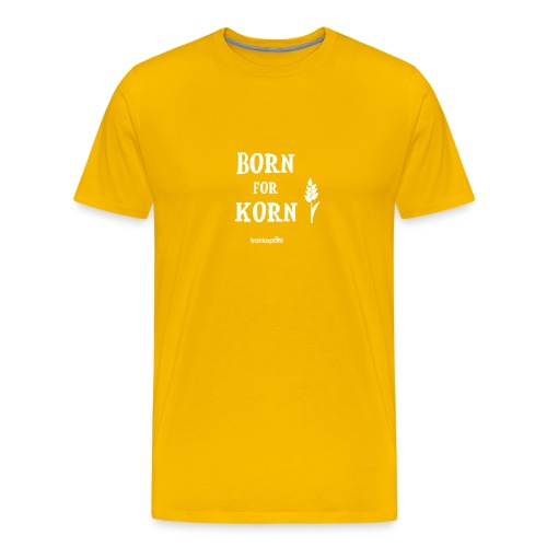 Born for Korn - Männer Premium T-Shirt
