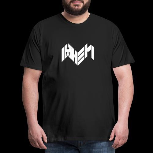 IMHERI LOGO - Miesten premium t-paita