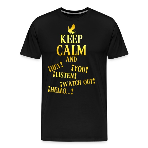 Keep Calm and Navi - Camiseta premium hombre