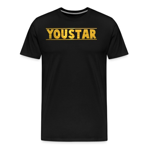 Golden Youstar Merch - Men's Premium T-Shirt
