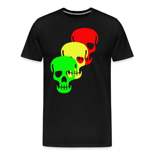 Triple Skull - Men's Premium T-Shirt