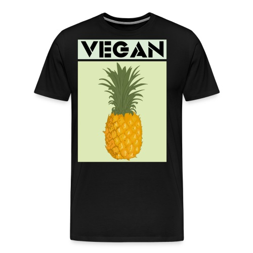 VEGAN PINEAPPLE - Men's Premium T-Shirt