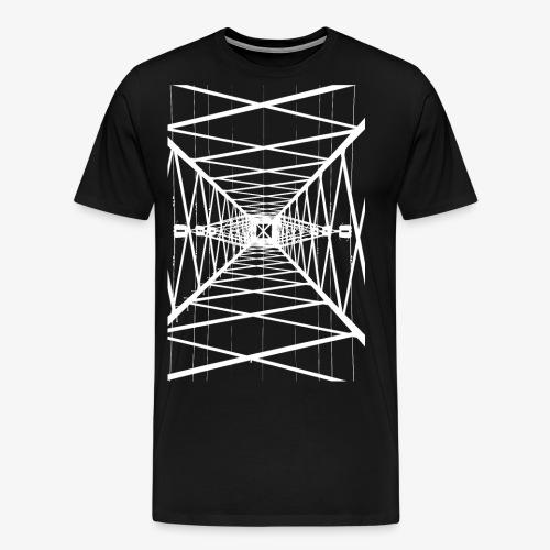 Hochmast Weiß - Männer Premium T-Shirt