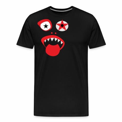 Clown Gesicht - Männer Premium T-Shirt