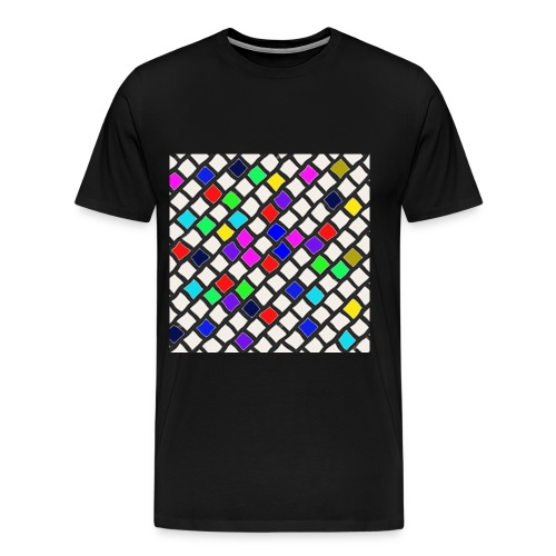 Kacheln - Männer Premium T-Shirt