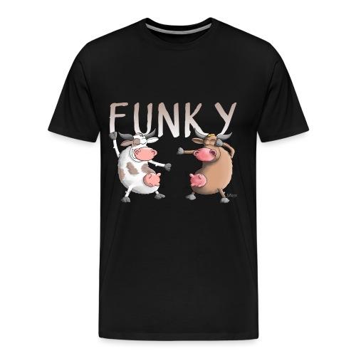 Funky, Crazy, Fun - Männer Premium T-Shirt