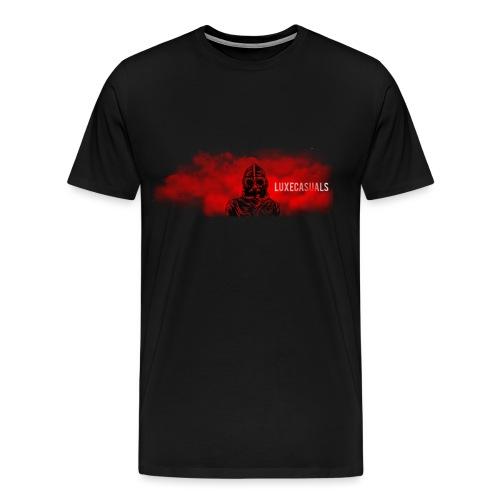 LuxeCasuals #1 Black - Mannen Premium T-shirt