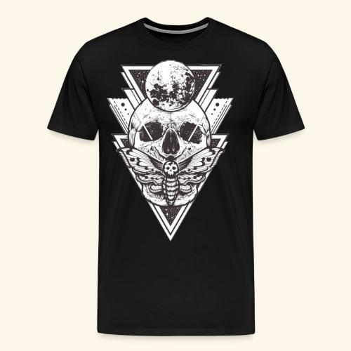 dimensional skull - Camiseta premium hombre