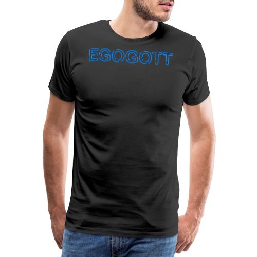 Egogott Neon - Männer Premium T-Shirt