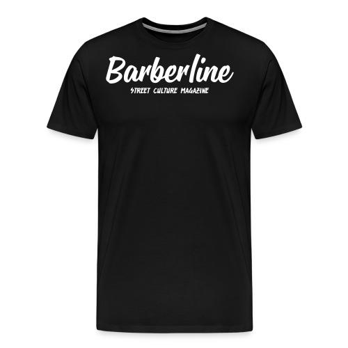 Barberline Magazine Logo - T-shirt Premium Homme