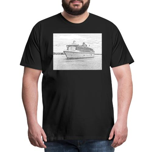 Schiff 16 - Männer Premium T-Shirt