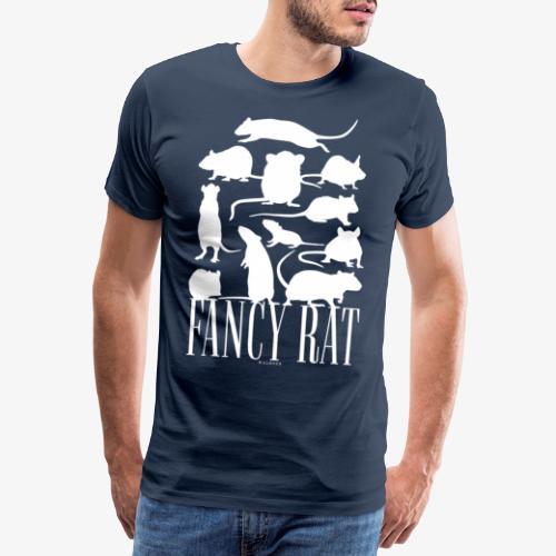 Fancy Rat - Miesten premium t-paita