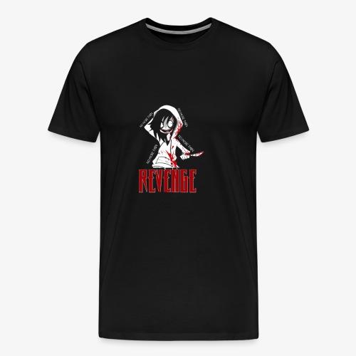 REVENGE x NO MORE PAIN - Premium-T-shirt herr