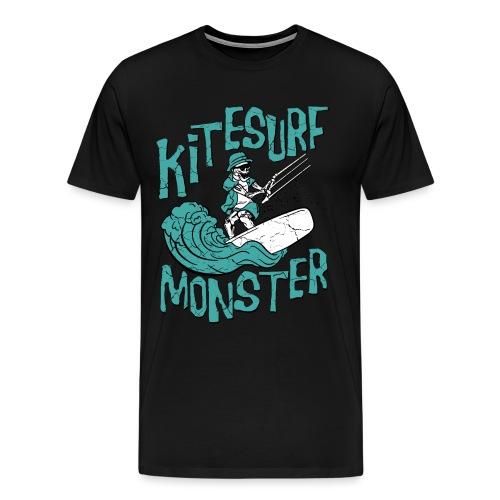 Kitesurf Monster - Männer Premium T-Shirt