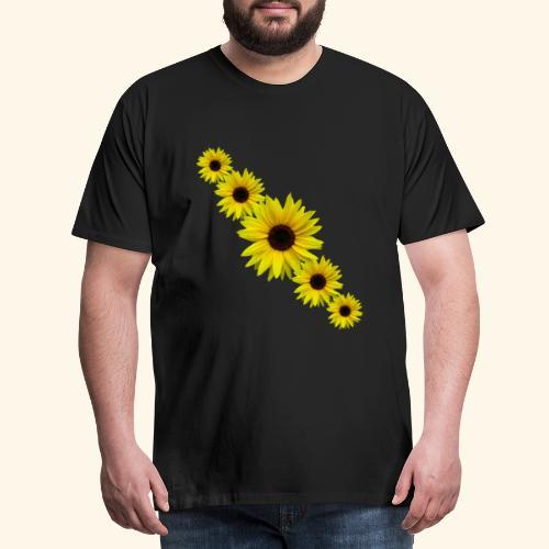 Sonnenblume, Sonnenblumen, Blumen - Männer Premium T-Shirt