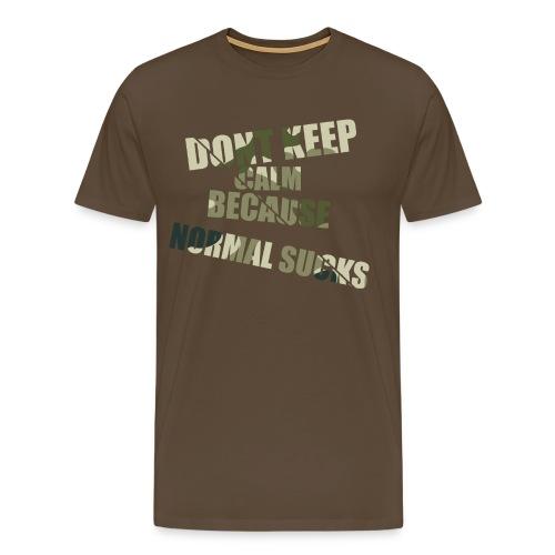 Normal sucks moro - Koszulka męska Premium