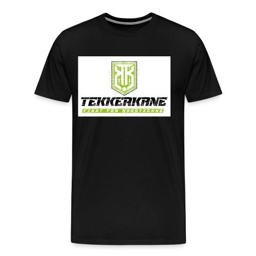 Tekkerkane LOGO 2C light - Männer Premium T-Shirt