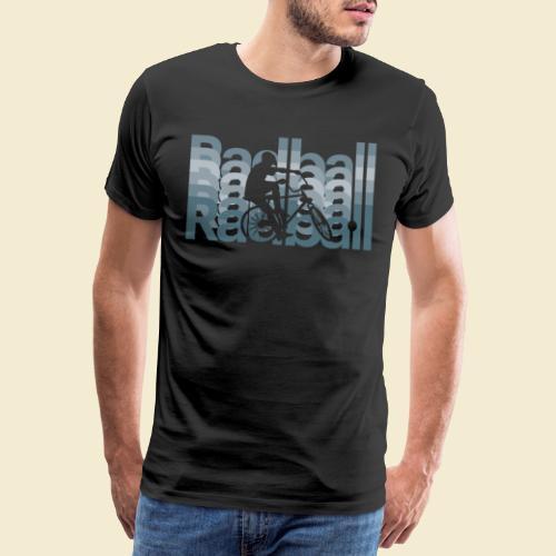 Radball   Typo Art - Männer Premium T-Shirt