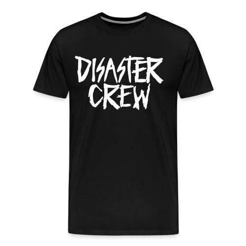 Disaster Crew Logo - Mannen Premium T-shirt
