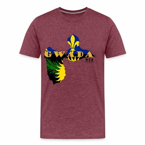 GWADA 971 OFFICIAL - T-shirt Premium Homme