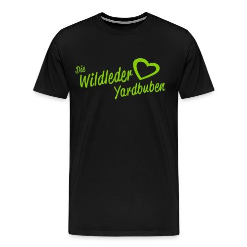 Wildleder Yardbuben - Männer Premium T-Shirt